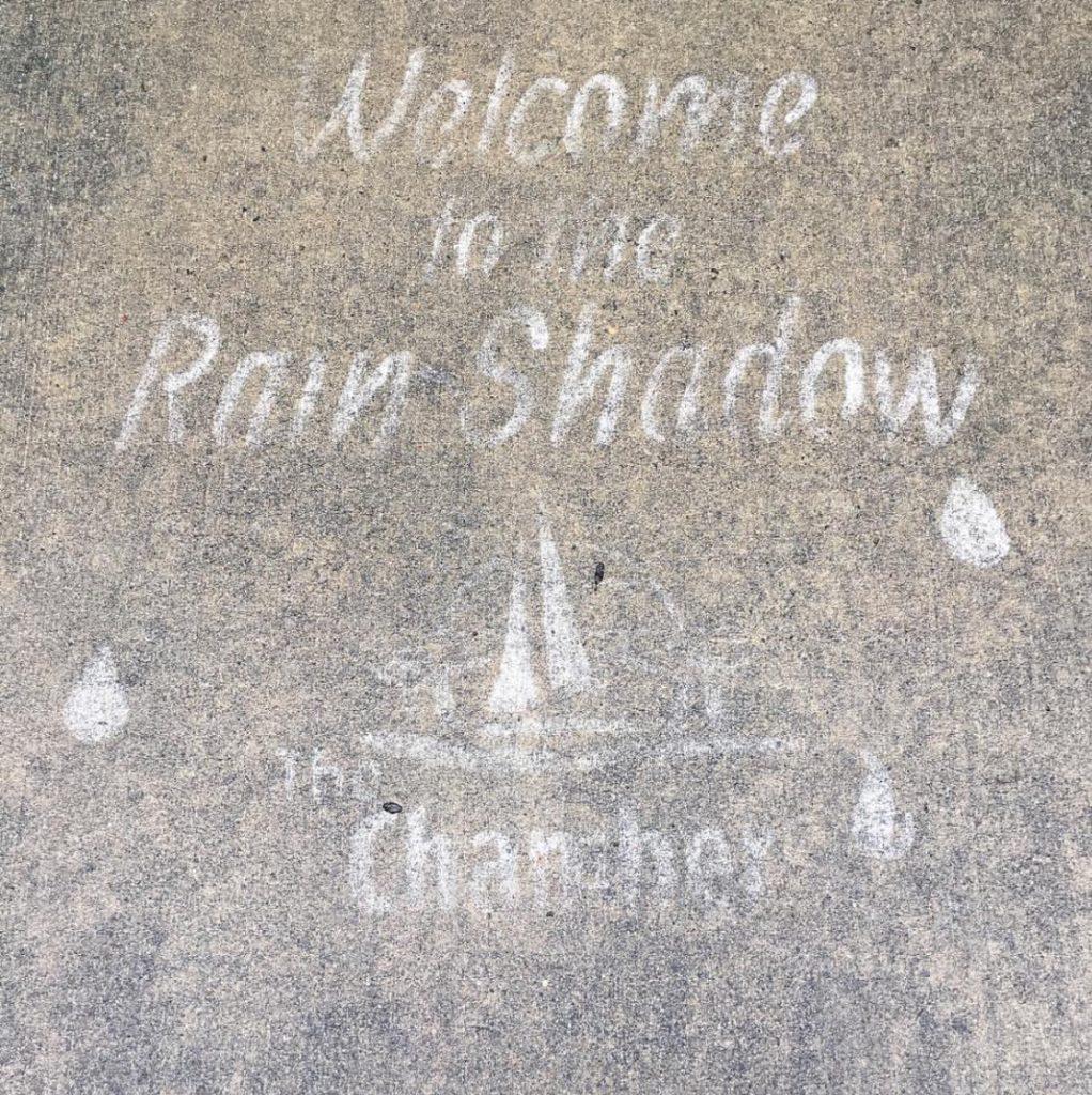 Rainy Days on Whidbey, Street art, Rainy Days, whidbey Island, Oak Harbor