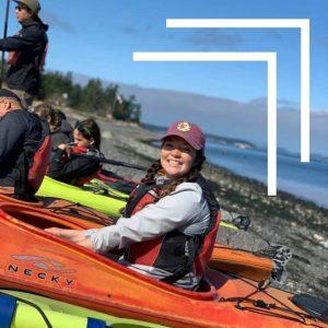 Water Sports on Whidbey, Tori, Kayaking